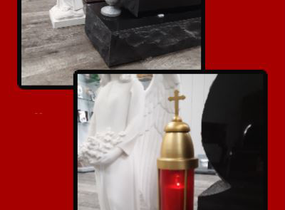 Holiday Grave Decorations, Vase Candle - Superior Monument - (800) 479-6483